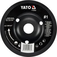 Yato Rotační rašple úhlová hrubá 125 mm typ 1 YT-59167