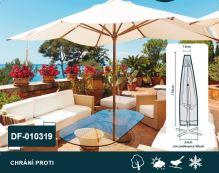 DIMENZA a.s. Ochranný obal na nábytek Typ obalu: Slunečník 200-300 cm - DF-010319