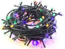 Hütermann 100 vánoční LED řetěz barevný 8m 100LED venkovní