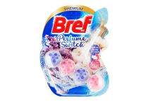Bref Perfume Switch tuhý WC blok 50g - White Lavender, Cotton Flower - 9000101378238