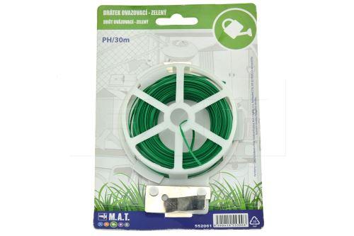 Ovazovací drátek M.A.T. PH/30m - Zelený - 8590419553003