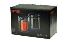 Termo sklenička Simax exclusive 200ml - Set 2ks - 8593419152955