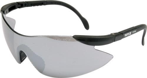 Yato Ochranné brýle tmavé 91380 YT-7376