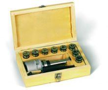 Kleštinový upínač MkIII a sada kleštin 4 - 16 mm
