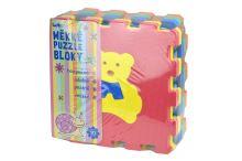 Měkké puzzle bloky (32cm) se zvířátky - Set 10ks - 8590331186211