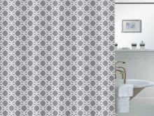 VERATEX Koupelnový závěs 180x180 cm ornamenty SKLADEM POSLEDNÍ 1KS