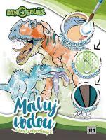 omalovánka A4 Maluj vodou Dinosauři (8595593817781)