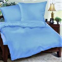 VERATEX Přehoz na postel bavlna140x200 sv.modrý