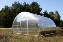 skleník LANITPLAST VOLHA 3,3x8 m PC 4 mm