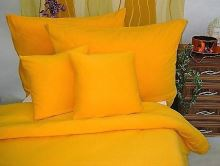 VERATEX Jersey povlečení 70x90 140x200 (č. 7-sytě žlutá)