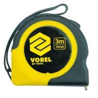 Vorel Metr svinovací 2 m x 16 mm žluto - černý TO-10101
