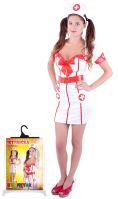 Karnevalový kostým pro dospělé slečna zdravotnice (M) (8590687101272)