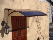 stříška nad dveře LANITPLAST LARUS 120/87 hnědá