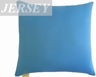 VERATEX Polštářek Mazlík jersey 40x40 cm (č.22-stř.modrá)