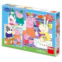 puzzle 3x55 Prasátko Peppa (8590878335301)