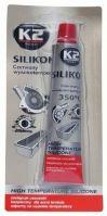 K2 Silikon pro utěsnění části motoru - červený 85g K2 amB240