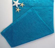 VERATEX Dětský froté ručník 30x50 cm azurově modrá