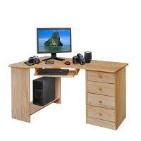PC stůl rohový 8846 lakovaný IDEA nábytek