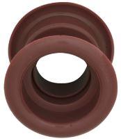 Mřížka plastová dveřní kruhová vnitřní průměr 40 mm calvados