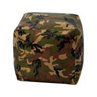 Sedací taburet CUBE army V24 IDEA nábytek