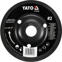 Yato Rotační rašple úhlová 125 mm typ 2 YT-59165
