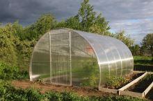skleník LANITPLAST DNĚPR 3,14x8 m PC 4 mm