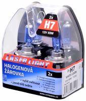 Compass Žárovka 12V  H7  55W PX26d WHITE LASER  2ks 08551