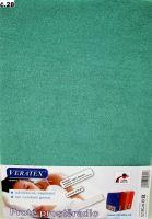 VERATEX Froté prostěradlo  90x210 cm (č.28-tm.zelená)