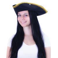 Klobouk pirátský KLASIK pro dospělé (8590687105072)