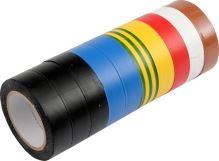 Vorel Páska PVC 19 x 0,13 mm x 20 m 10 ks barevné TO-75028