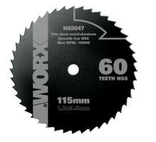 WA5047 - Kotouč na dřevo/kov 115 x 9,5 pro WU427, Worxsaw XL