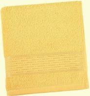 VERATEX Froté osuška Lucie 450g 70x140 cm (sv.žlutá)