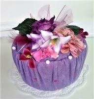 VERATEX Veratex Textilní dort jednopatrový (froté prostěradlo 180x200cm 28 barev)