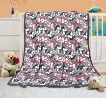 VERATEX Dětská deka - lištičky 100x155 cm