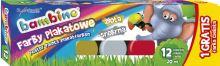 Bambino plakát barvy 12 barev 20ml + zdarma