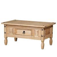 Konferenční stolek CORONA vosk 163910 IDEA nábytek