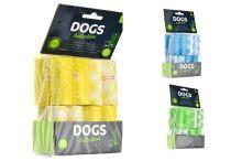 Sáčky na psí exkrementy, 240ks - Mix barev - 8719987465307