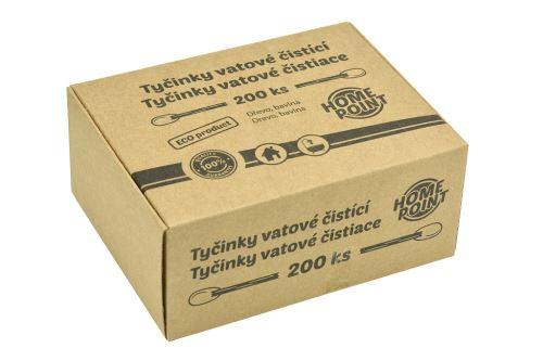 Vatové čistící tyčinky - 200ks - 8595599106421
