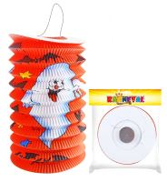 Lampion s duchem Halloween 15 cm (8590687031111)