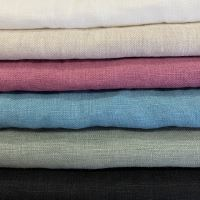 Aesthetic Lněný ručník - 100% len Rozměr: 47x70 cm, Barva: černá