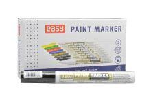 Barevný označovač odolný vůči vodě EASY 8ml - Černý 1ks - 5901180308823