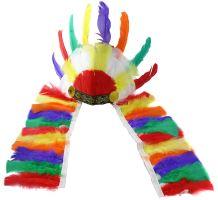 Indiánská barevná čelenka (8590687040052)