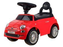 Odrážedlo Fiat 500 červené tlačné