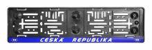 Podložka pod SPZ  ČR-EU 91535