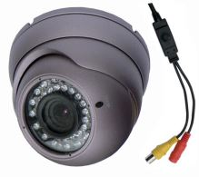Kamera barevná antivandal DOME-B323 700TVL, OSD, IR, Varifocal, Zoom