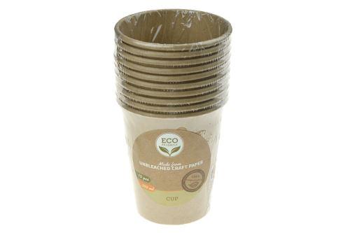 Ekologický papírový kelímek 250ml - Set 10ks - 8719987316357
