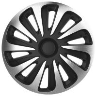 "Kryty kol 16"" CALIBER Carbon (sada) silver/black 32526"