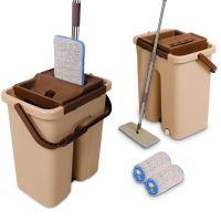 Cenocco CC-9070: Plochý mop s kbelíkem Bucket Brown