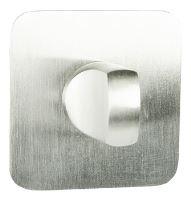 rozeta SLIM - QR WC - INX - nerez ocel
