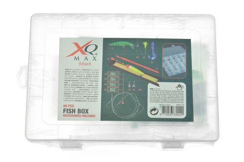 Krabička na rybářské potřeby s příslušenstvím - Set 60ks - 8719033330429